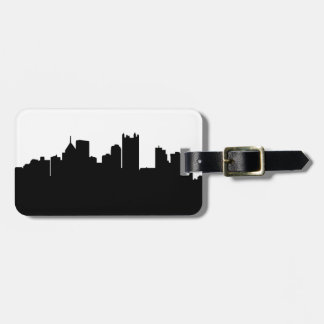 Pittsburgh Skyline Luggage Tag