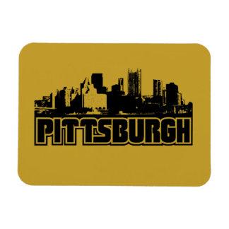 Pittsburgh Skyline Magnet