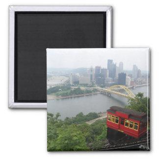Pittsburgh Skyline Fridge Magnet