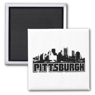 Pittsburgh Skyline Magnets