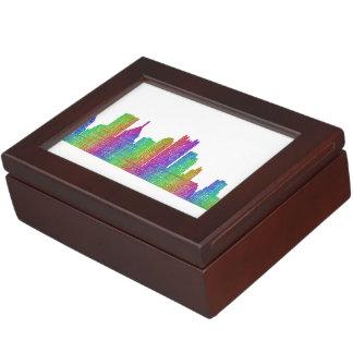 Pittsburgh skyline memory box