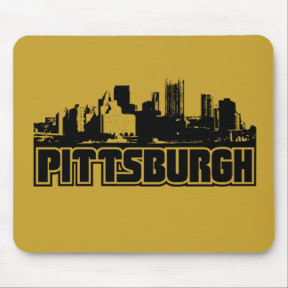 Pittsburgh Skyline Mouse Pads
