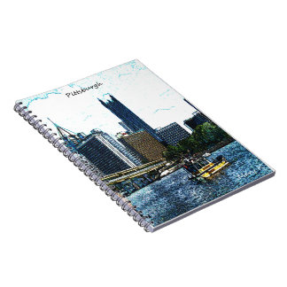 Pittsburgh Skyline Notebook