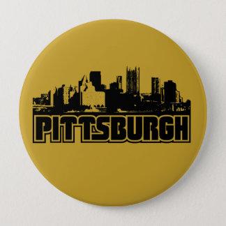 Pittsburgh Skyline Pinback Button