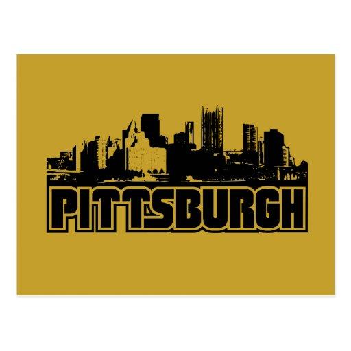 Pittsburgh Skyline Post Card