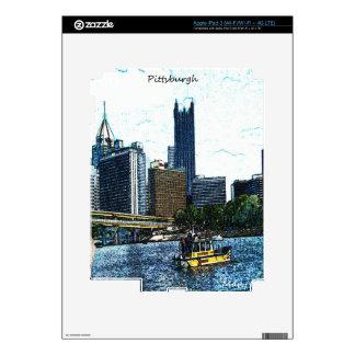 Pittsburgh  Skyline iPad 3 Skin