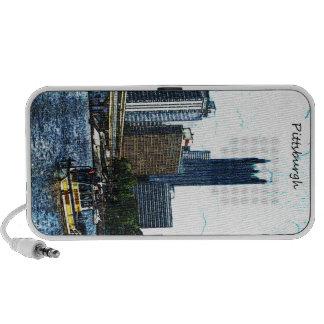 Pittsburgh  Skyline Travelling Speaker