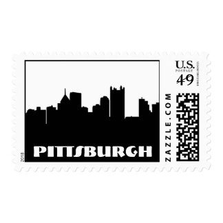 Pittsburgh Skyline Stamp