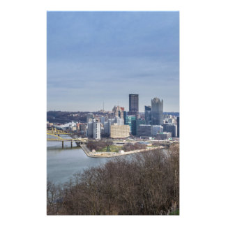 Pittsburgh Skyline Stationery