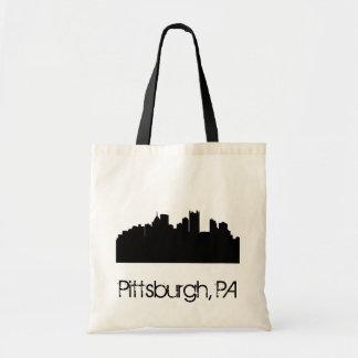 Pittsburgh Skyline Tote