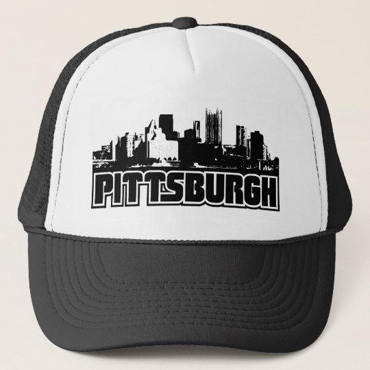 Pittsburgh Skyline Trucker Hat