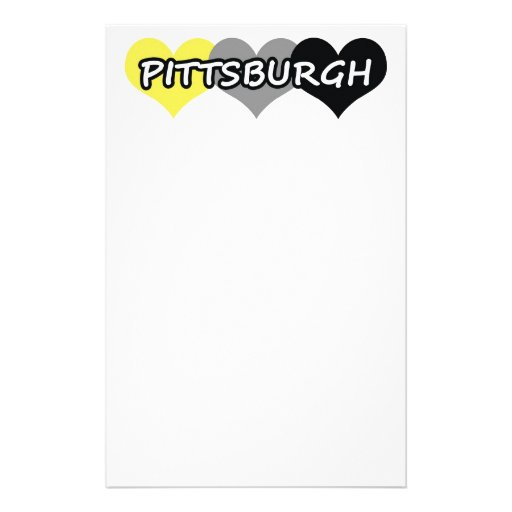 Pittsburgh Stationery