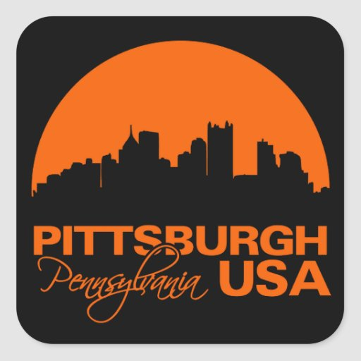 PITTSBURGH stickers