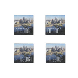 Pittsburgh Stone Magnet
