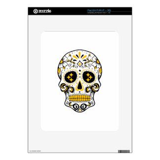 Pittsburgh Sugar Skull Decal For iPad