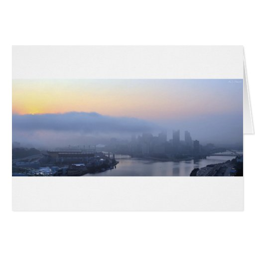 Pittsburgh Sunrise Cards