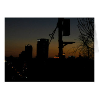 Pittsburgh Sunset Stationery Note Card