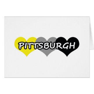 Pittsburgh Tarjeta De Felicitación