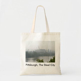 Pittsburgh, the Steel City Canvas Bags