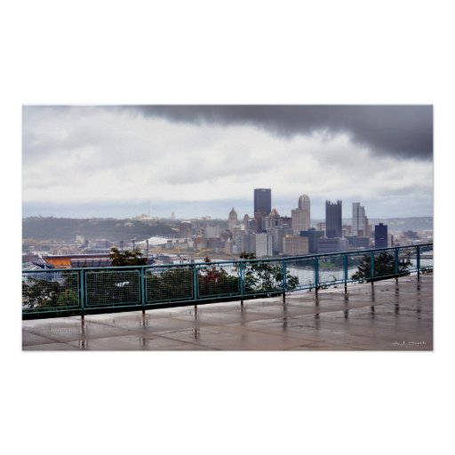 Pittsburgh ... This Steel Don't Rust Poster
