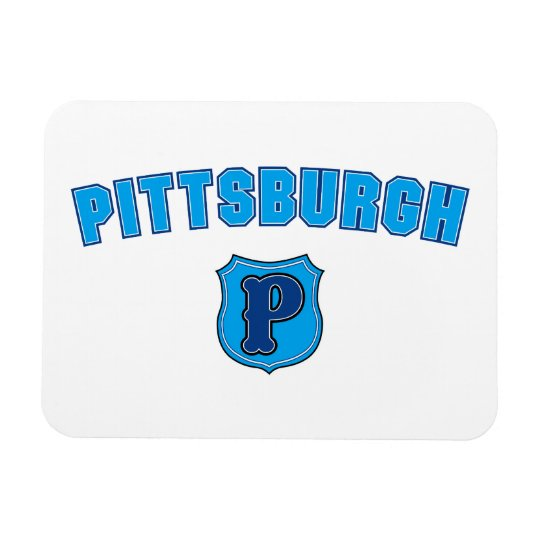 Pittsburgh Throwback Magnet