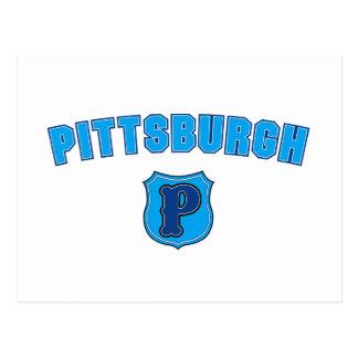 Pittsburgh Throwback Postcard