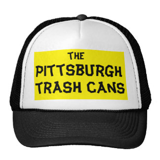 pittsburgh trash can trucker hat