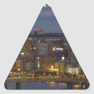 pittsburgh triangle sticker