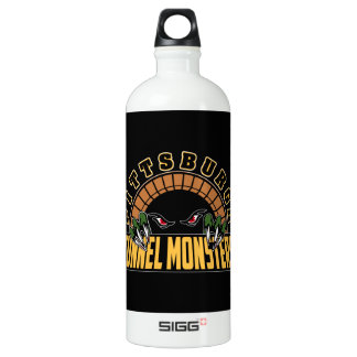 Pittsburgh Tunnel Monsters Aluminum Water Bottle