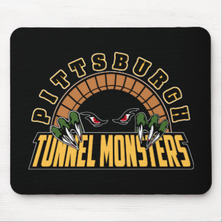 Pittsburgh Tunnel Monsters Mouse Pad
