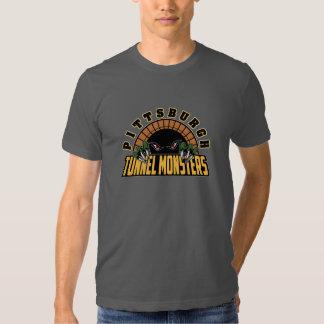 Pittsburgh Tunnel Monsters Tee Shirt