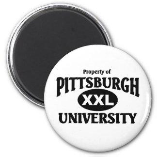 Pittsburgh University 2 Inch Round Magnet