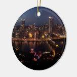 Pittsburgh via Monongahela Incline Ornaments
