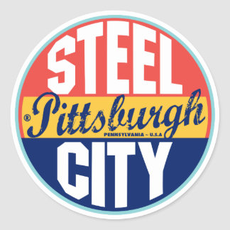 Pittsburgh Vintage Label