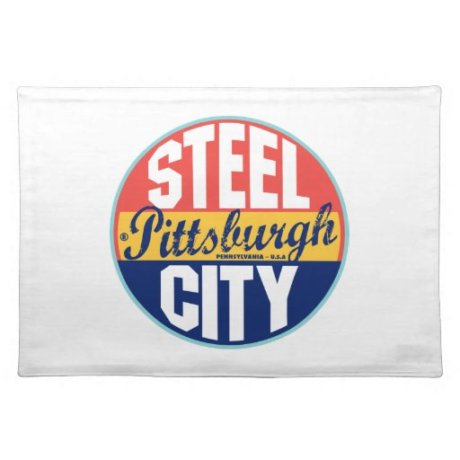 Pittsburgh Vintage Label Placemats