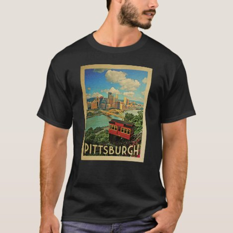 Pittsburgh Vintage Travel T-shirt