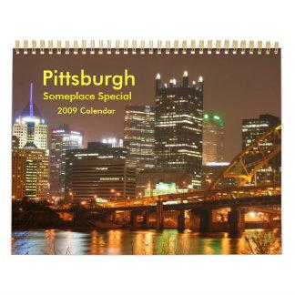 Pittsburgh Wall Calendar