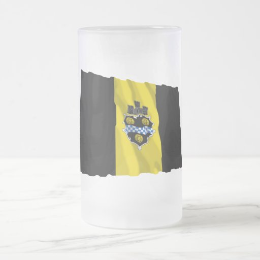 Pittsburgh Waving Flag Coffee Mug
