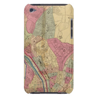 Pittsburgh y Allegheny iPod Case-Mate Carcasa