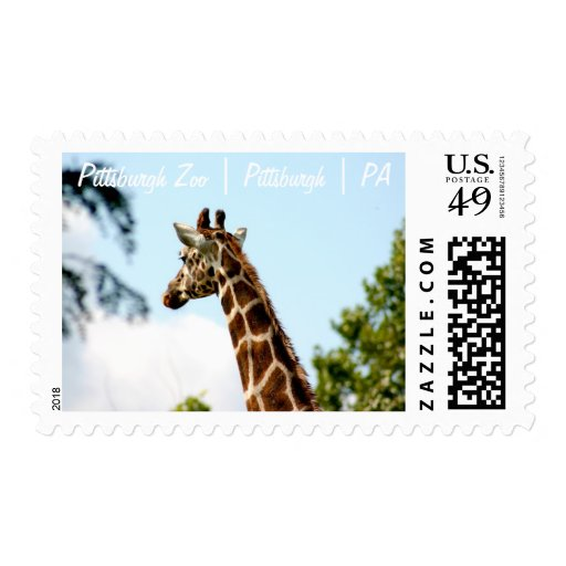 Pittsburgh Zoo | Pittsburgh | PA |Postage Stamp 10