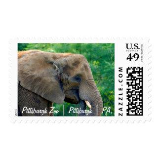 Pittsburgh Zoo | Pittsburgh | PA | Postage Stamp 3