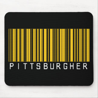 Pittsburgher Barcode Mouse Pad