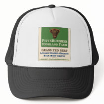 Pittsburgher Highland Farm - Trucker Hat with Logo