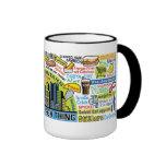 Pittsburghese Ringer Mug