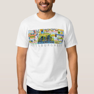 pittsburghese tee shirt