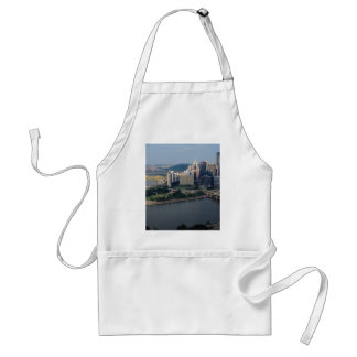 Pittsburgh's Golden Triangle, Pennsylvania, U.S.A. Adult Apron