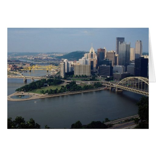 Pittsburgh's Golden Triangle, Pennsylvania, U.S.A. Cards