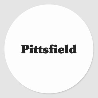 Pittsfield  Classic t shirts Stickers