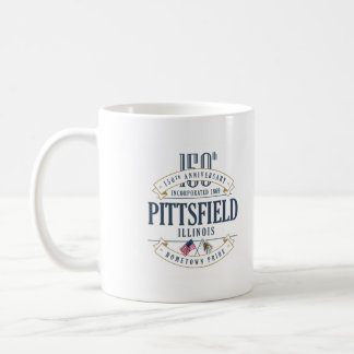 Pittsfield, Illinois 150th Anniversary Mug