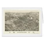 Pittsfield, MA Panoramic Map - 1899 Card
